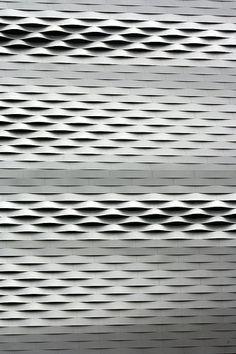 Neue Messe Basel facade by Herzog & de Meuron architects