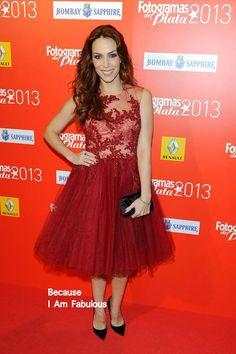 Fabulously Spotted: Nerea Garmendia Wearing Inas Couture - Fotogramas de Plata 2013 - http://www.becauseiamfabulous.com/2014/02/nerea-garmendia-wearing-inas-couture-fotogramas-de-plata-2013/