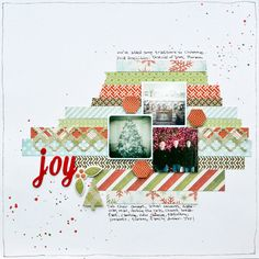 Christmas Layout   We R Memory Keepers Blog