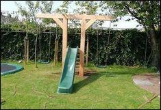 Backyard for kids, Backyard play, Play area backyard, Backyard swings, Diy playg. Backyard for kid Backyard Playset, Backyard Swings, Backyard For Kids, Backyard Projects, Backyard Patio, Backyard Landscaping, Pergola Swing, Landscaping Ideas, Kids Outdoor Play