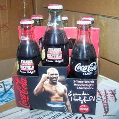 Vintage 1996 Evander Holyfield 3 Time Boxing Champ Coke Lot # 41 Edit item   Reserve item  $75.00 DISCOUNTS