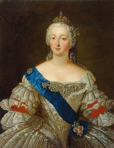 Elizabeth of Russia (Rostov museum) - Дворцовый переворот 1741 года — Википедия