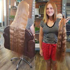 Lange haare abschneiden frau Haare gerade