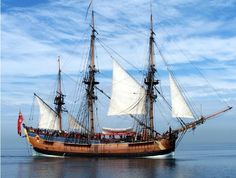Endeavour, Moreton Bay...Captain Cook's ship...not the real one....