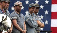 "LMAO, ""Reality check"" is finally sinking in. All these guys heard was 'coal-mining jobs' and they were on Trump's heels in support. Well now, black lung has them coughing another tune since Donald's planning on getting rid of the Affordable Care Act."