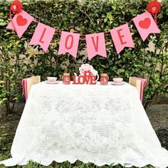 """Valentines Tea For Two #valentines #valentinesday #TeaforTwo #pinkandred #Eventstyling #partyplanning #kidsparties #kidsparty #Friendshipday #Teaparty…"""