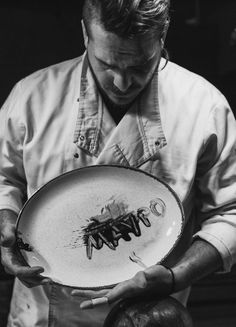 """Chef Portraiture. From the """"The Dark Side Of The Cuisine"""" project with Chef Giannis Liakis.  Read the whole article at my blog.  All photos ©Vaia Daldis"""