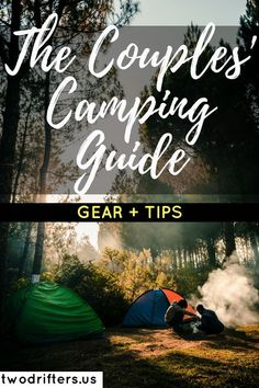 Headed to the great outdoors with your partner? Our guide to camping for couples will ensure you are prepared for your trip and have a great time together. ideas for couples Camping for Couples: Essential Gear Guide & Tips for Two Camping Guide, Camping Checklist, Camping Essentials, Camping And Hiking, Camping With Kids, Family Camping, Tent Camping, Camping Gear, Camping Hacks