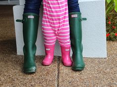 Hunter Boots for a mini me