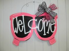 Sunglasses door hanger