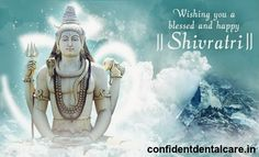 The #Best #dental Care in #Bangalore - Confident dental care wishes you and your family a #Very #happy #Mahashivaratri. For more : www.confidentdentalcare.in