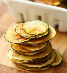 zucchini chips, what's not to love  ?