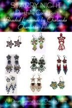 Starry Night Earring Portfolio (E-Book) by Charlotte Holley - Beaded Legends by Chalaedra