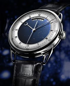 De Bethune-DB25 Tourbillon Regulator Watch #DeBethune #Astronomy #Luxury