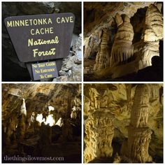 Bear Lake Family Vacation - Minnetonka Caves
