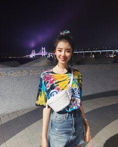 Irene Kim, Wild Ones, Your Smile, Role Models, Fashion Beauty, Tie Dye, Sari, Belt, Instagram