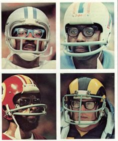 You wouldn't tackle a guy with glasses?