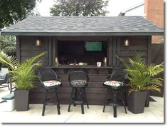 I like the dark color - makes it a little more sophisticated and less like a utility shed.