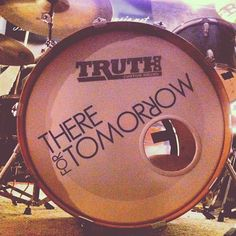 """There For Tomorrow // """"Rehearsing, Jamming & Writing. - @christft"""""""
