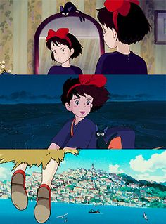 Kiki 's Delivery Service. She reminds me of my daughter.
