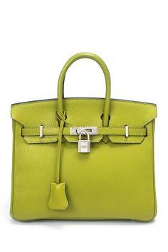 Vintage Hermes Leather Birkin 25 Handbag by Vintage Hermes on @HauteLook