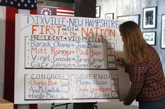 Dixville Notch, New Hampshire election results #IVoted