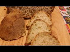 Pane semplice con lievito madre - YouTube