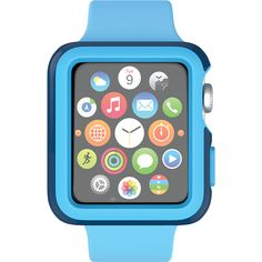 Speck Apple Watch 42mm Candyshell Fit Case Deep Sea Blue/Lagoon Blue Speck Electronic Cases