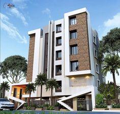 Building Elevation, Building Exterior, House Elevation, Building Design, Front Elevation, Exterior Design, Interior And Exterior, Modern House Design, Modern Houses