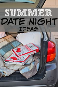 Summer Date Night Ideas. These are so FUN!
