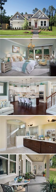 The Mapledale by David Weekley Homes in The Encore at 12 Oaks is a 3 bedroom floorplan that features a covered porch, an open kitchen and family layout, and a large owners retreat. Custom home upgrades include tray ceilings in the owners retreat, a fireplace, or a bonus room on the 2nd story.
