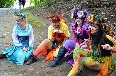 New York Renaissance Faire...Photo: Samantha Nicole via Tumblr