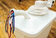 Cómo hacer un aparato de aire acondicionado casero
