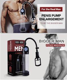 CANWIN Manual Penis Pump Enlargement Pumps Strong Suction Sex Toy Adult Product penis enlargement extender for Men