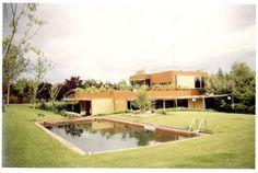 Foto de archivo de la casa Guzmán de Alejandro de la Sota.