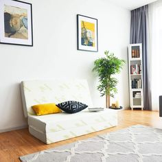 Sofa Bed Guests Floor Tri-Folding Mattress with Storage Bag Large Cushions, Floor Cushions, Cushion Source, Portable Bed, Comfort Mattress, Foam Mattress, Air Mattress, Guest Bed, Dust Mites
