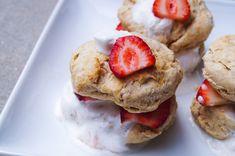 Vegan Strawberry Shortcake, Summer Desserts, French Toast, Breakfast, Food, Morning Coffee, Essen, Meals, Yemek