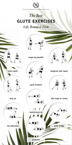 The Best Glute Exercises | Lift, Round & Firm To give your backside that…