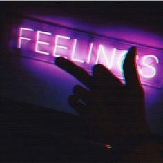 Image via We Heart It #feelings #finger #grunge #hand #night #purple