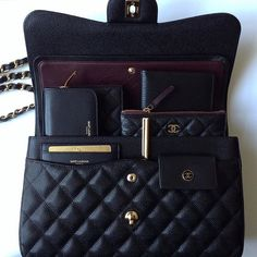 Chanel Jumbo Classic Bag Spill