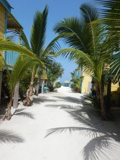 Caye Caulker, Belize — by Ramona Arne. Our favorite place to stay on this island while backpacking. Colinda's cabanas.