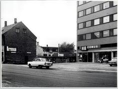 Valby Langgade HB - Irma. 1966 Copenhagen City, Motown, Good Old, Old Photos, Childhood Memories, Flower Power, Photographs, Shops, Street View