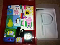 Letter P Workboxes