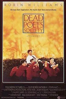Dead Poets Society is a 1989 American drama film directed by Peter Weir. The script was written by Tom Schulman, based on his life at the Montgomery Bell Academy in Nashville, Tennessee.