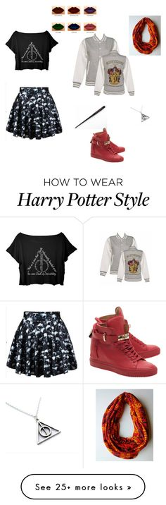 """Harry Potter"" by bellev17 on Polyvore featuring BUSCEMI"