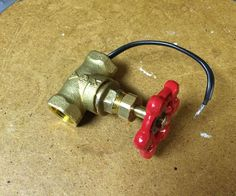 Water Valve Light Switch for a Pipe Lamp                                                                                                                                                                                 More