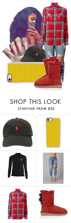 """Day with Bae Tomorrow 🔒‼️😘"" by shamyadanyel ❤ liked on Polyvore featuring Ralph Lauren, Casetify, Polo Ralph Lauren and UGG Australia"