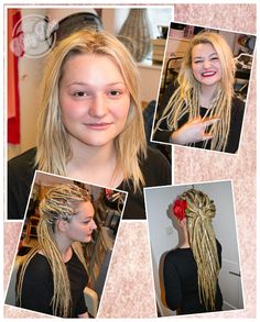 Damsels in dreadlocks. Synthetic dreadlock extensions , Brighton Uk . Kitty Boo Creative. #damselsindreads