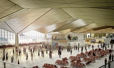 grimshaw architects: pulkovo airport phase 1 nears completion