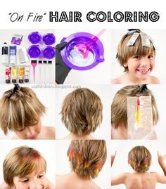 Going Summer Color Crazy - HAIR COLOR tutorial